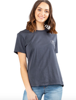 Alley Cat Short Sleeve Tee - Dark Sapphire