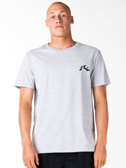 Layer Cake Short Sleeve Tee - Grey Marle
