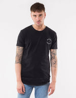 Terror Layered Tee - Washed Black