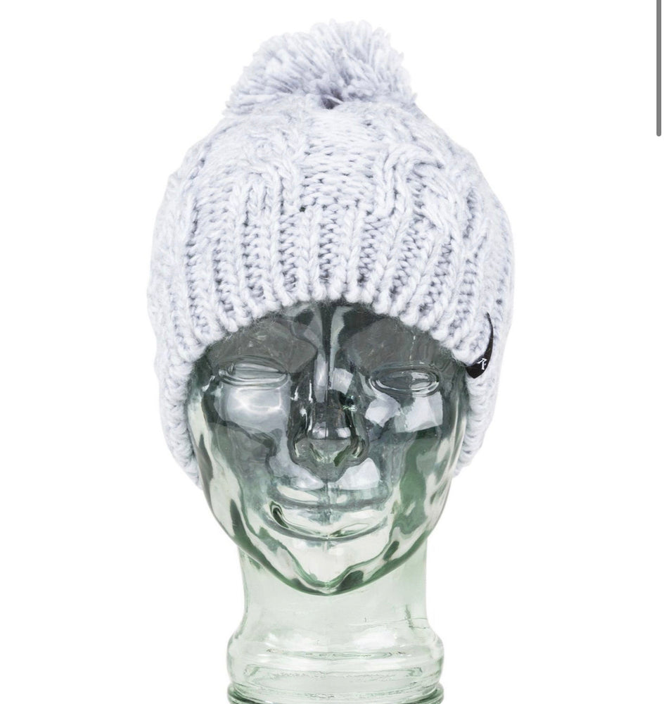 Mermaid Beanie - Light Grey Marle