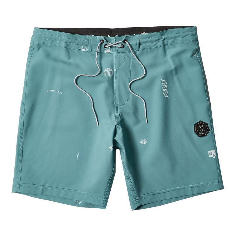 "Twisted Times 18.5"" Boardshort"