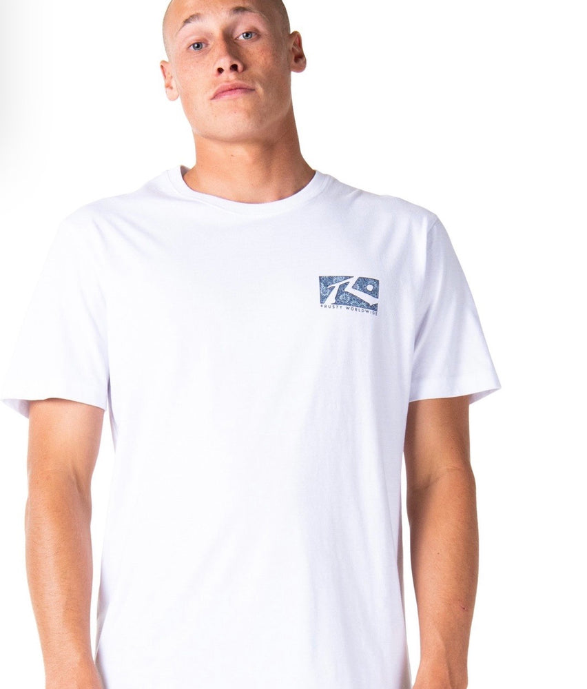 Scratch Short Sleeve Tee - White