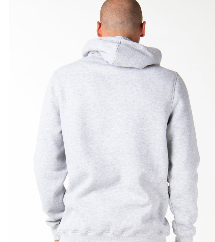 One Hit Wonder Hooded Fleece - Grey Marble