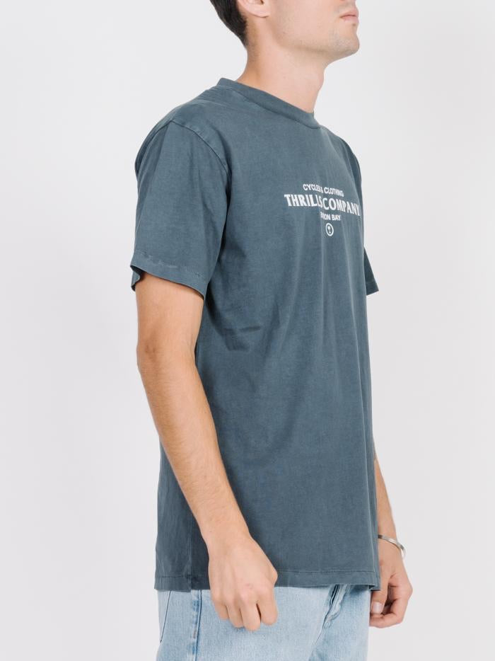 Never Broken Merch Fit Tee - Washed Navy