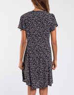 Something Floral Dress - Black