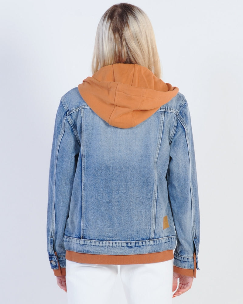 All About Eve Layered Denim Jacket - Multi