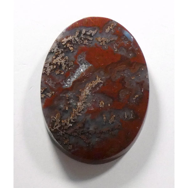 Red Dendritic Agate