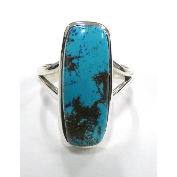 Chrysocolla in Sterling Silver