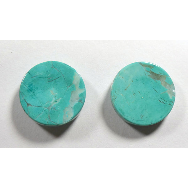 Chrysocolla Earring Pair