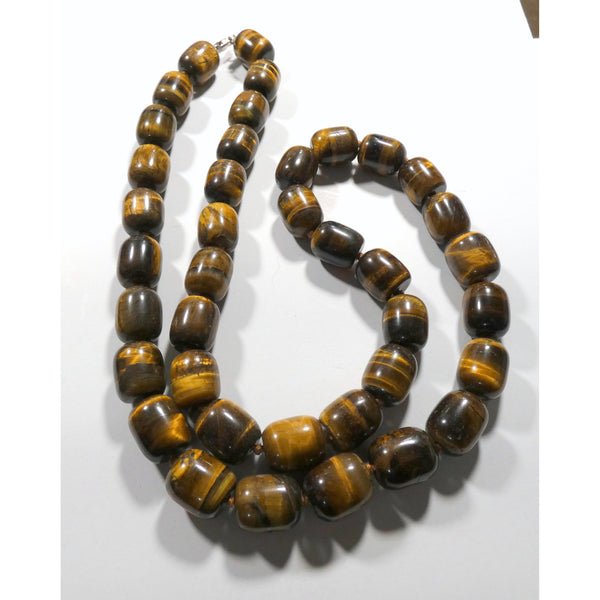 Tiger Eye 24 Inch Necklace