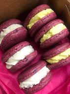 RASPBERRY LEMON MACARONS