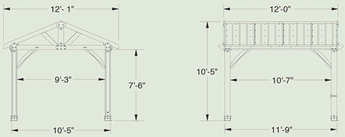 Sonora Gazebo Diagram