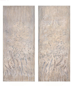 """Birgit's Panels""  36""x 84"" Fine Art Replica on Rolled Canvas Panels"