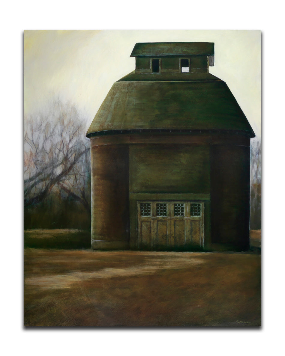 "Storehouse - 48"" x 60"" oil on canvas $15,000"