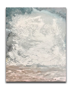 "Tempest - 48"" x 60"" x 2 1/4"" mixed media on canvas - SOLD"