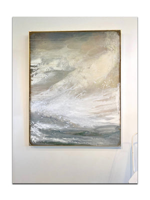 "Windswept - 48"" x 60"" House paint and acrylic on canvas"