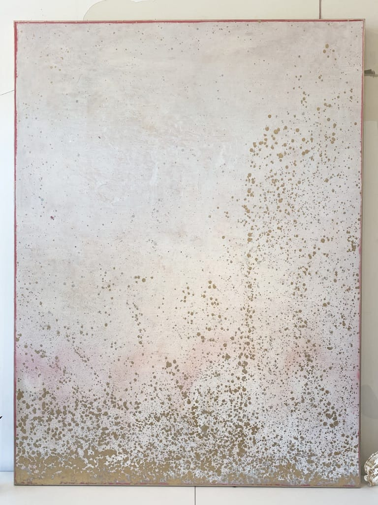 """Champagne Dreams"" 8 ft x 6 ft x 3"" oil on canvas"