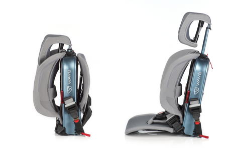Pico Car Seat folded and unfolded