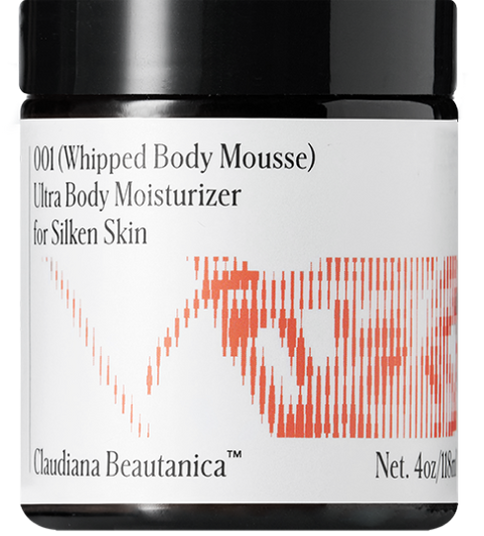 Claudiana Beautanica Whipped Body Mousse