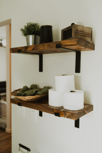 Floating Shelf with Bracket