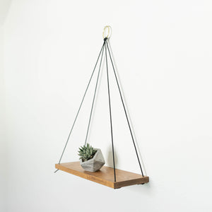 hanging shelves with cord
