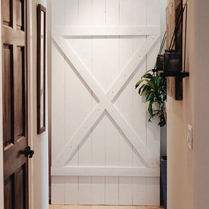 X Design Barn Door