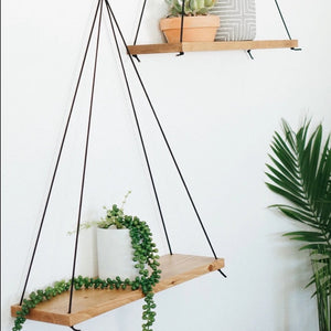 Hanging Plant Shelves