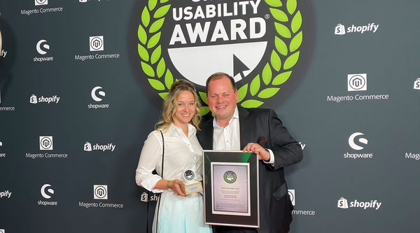 Tiny Boon gewinnt den Shop Usability Award 2019 | tiny-boon.com