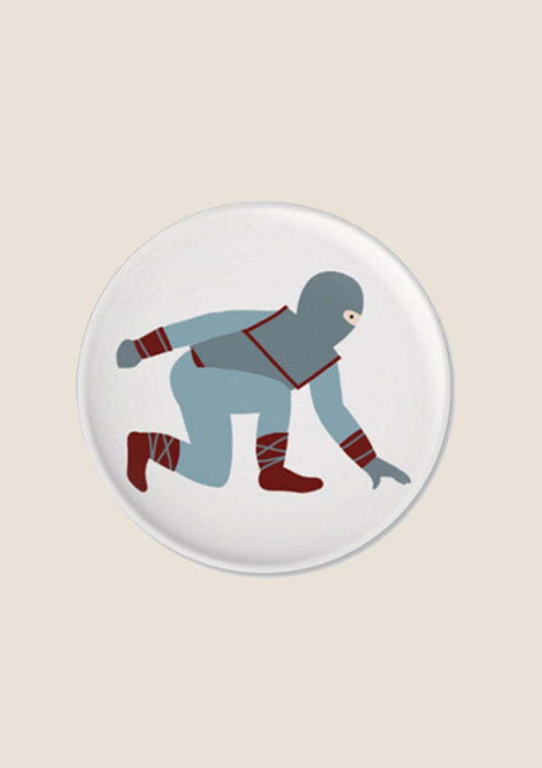 "ava&yves Button ""Ninja"" - tiny-boon.com"