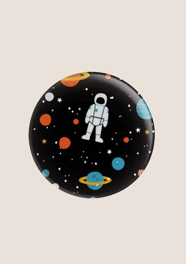 "ava&yves Button ""Space"" in schwarz - tiny-boon.com"