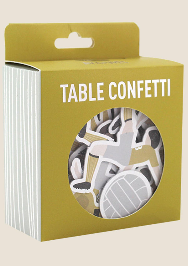 "ava&yves Table Confetti ""Fussball"" 60er-Set - tiny-boon.com"