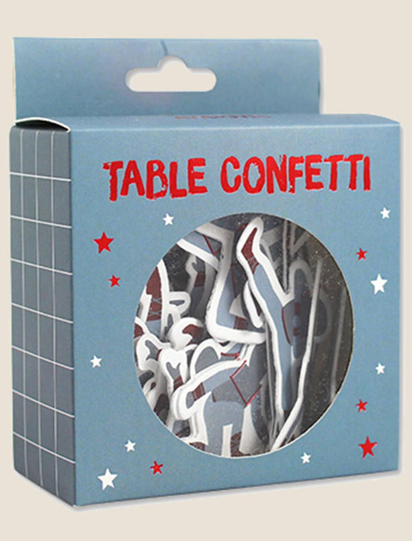 "ava&yves Table Confetti ""Ninjas"" 60er-Set - tiny-boon.com"