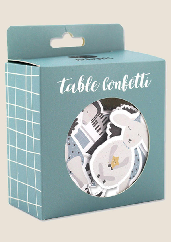 "ava&yves Table Confetti ""Tiere"" 60er-Set - tiny-boon.com"