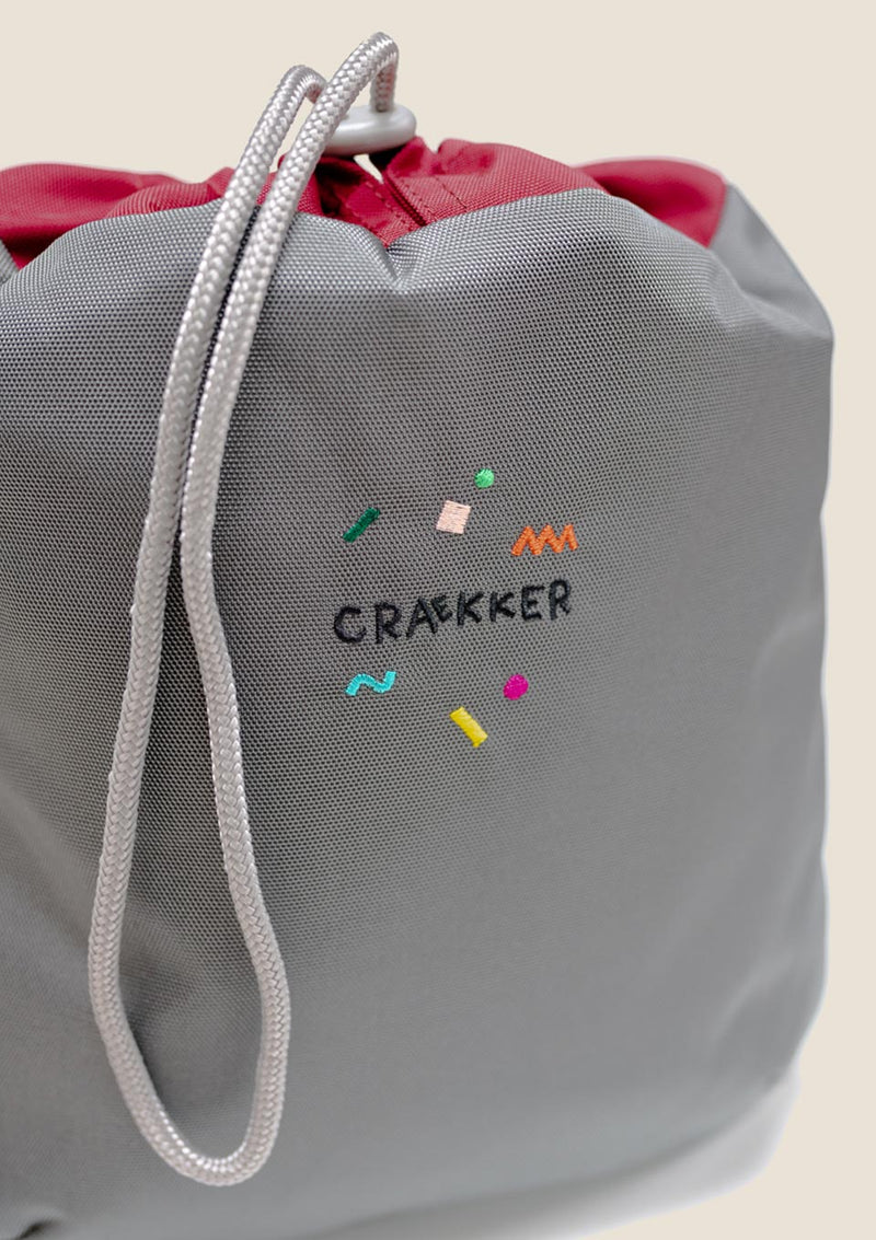 "CRAEKKER Mini Sportbeutel ""CUCKOO"" in stone - tiny-boon.com"