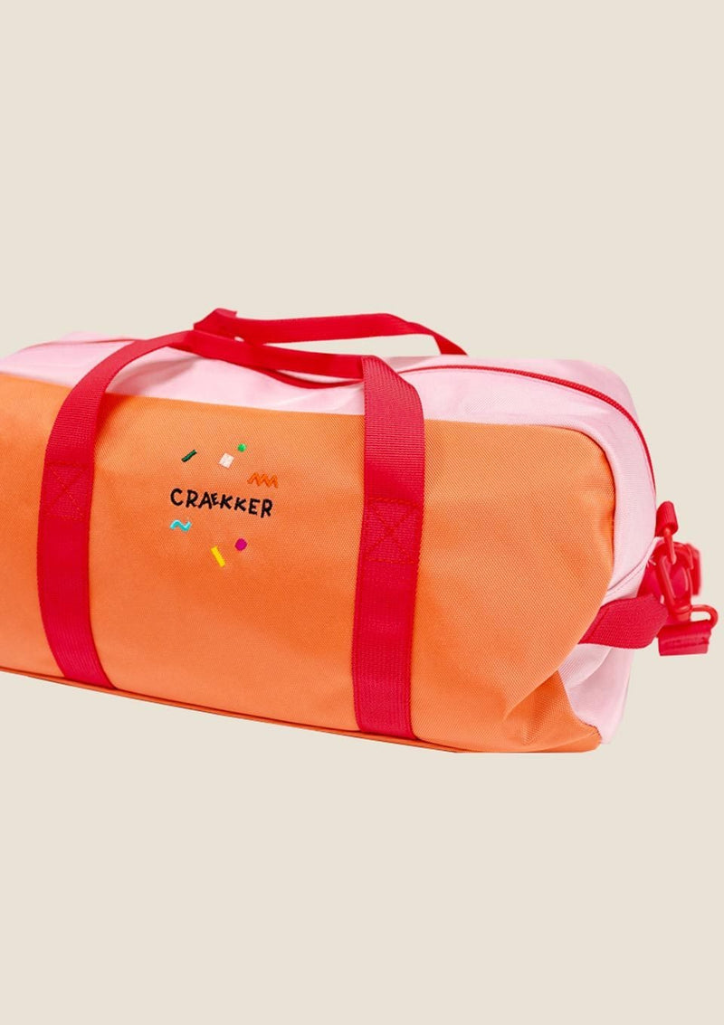 "CRAEKKER Sporttasche ""BO"" in Pink-Orange - tiny-boon.com"