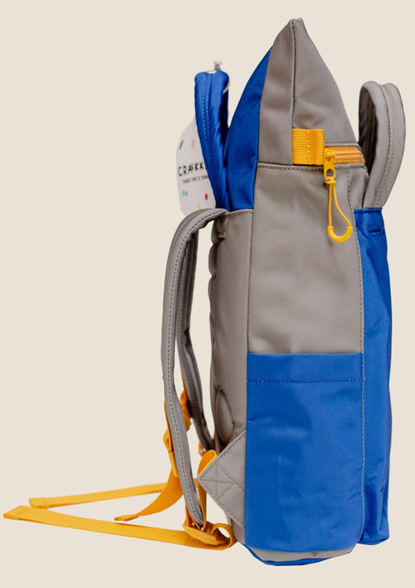 "CRAEKKER Totepack ""Magpie"" in Blau - tiny-boon.com"