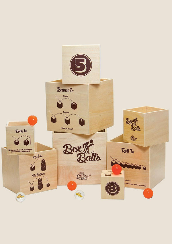 Fat Brain Toys Box N Balls - Jumping Balls - tiny-boon.com