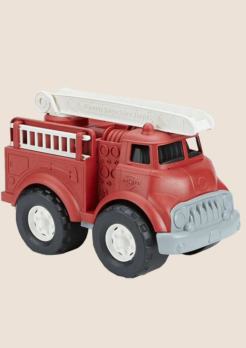 Green Toys Fire Truck - Feuerwehrauto in rot - tiny-boon.com