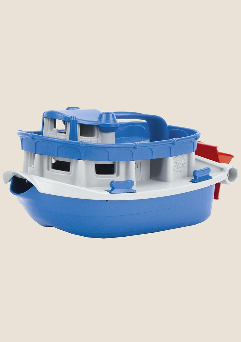 Green Toys Paddle Boat - Raddampfer - tiny-boon.com