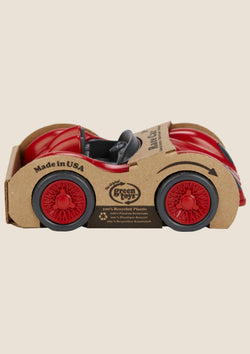 Green Toys Race Car - Rennwagen in rot - tiny-boon.com