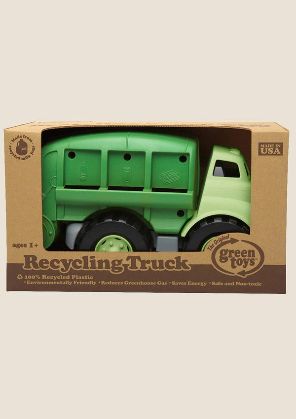 Green Toys Recycling Truck - Müllauto in grün - tiny-boon.com
