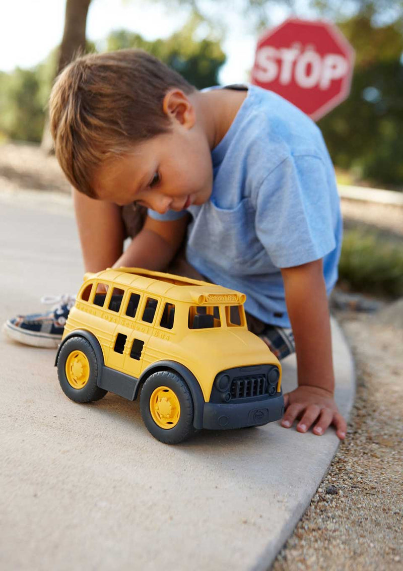 Green Toys Schoolbus - Schulbus in gelb - tiny-boon.com
