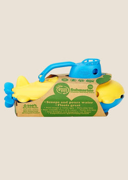 Green Toys U-Boot mit blauem Turm - tiny-boon.com