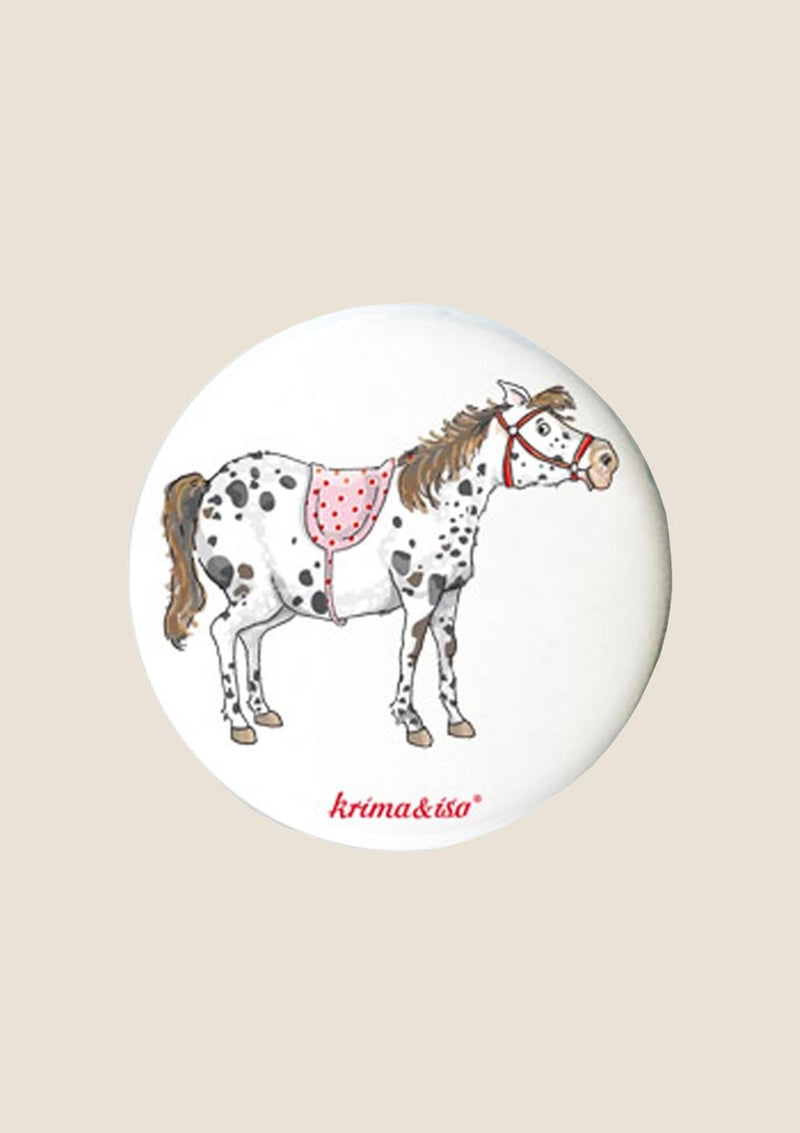 "krima & isa Button ""Pony"" - tiny-boon.com"