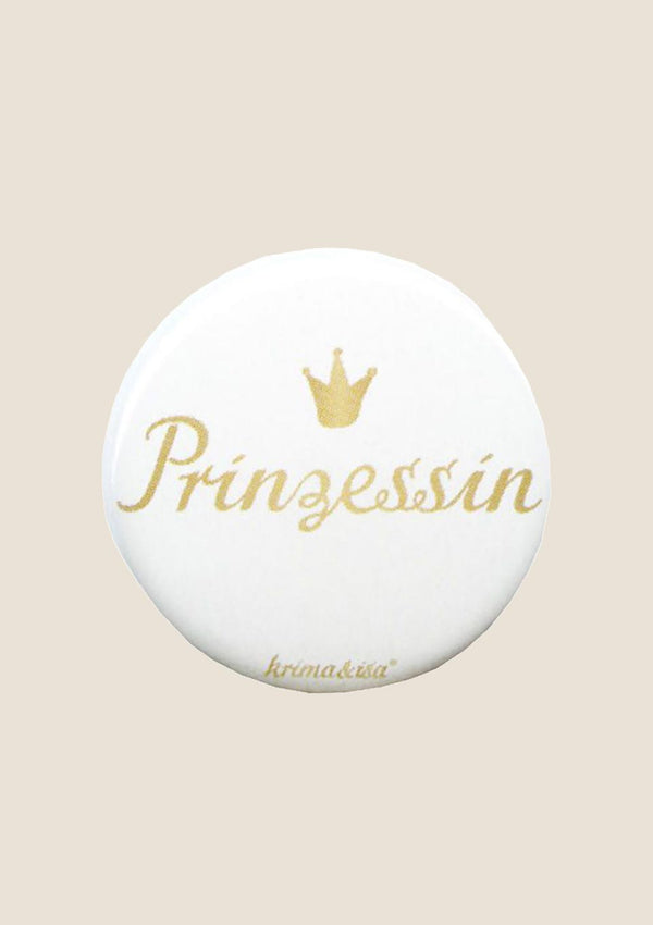 "krima & isa Button ""Prinzessin"" - tiny-boon.com"