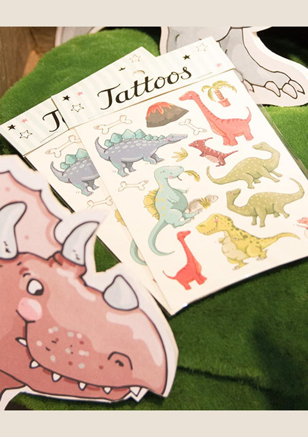 "krima & isa Temporäre Tattoos ""Dinos"" - tiny-boon.com"