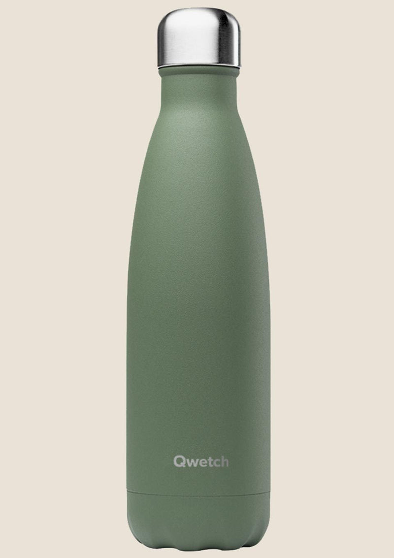 Qwetch Thermosflasche Granité Khaki 500 ml - tiny-boon.com