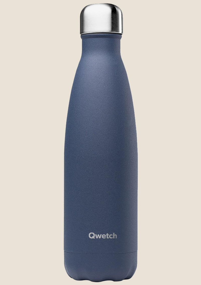 Qwetch Thermosflasche Granité Midnight Blue 500 ml - tiny-boon.com