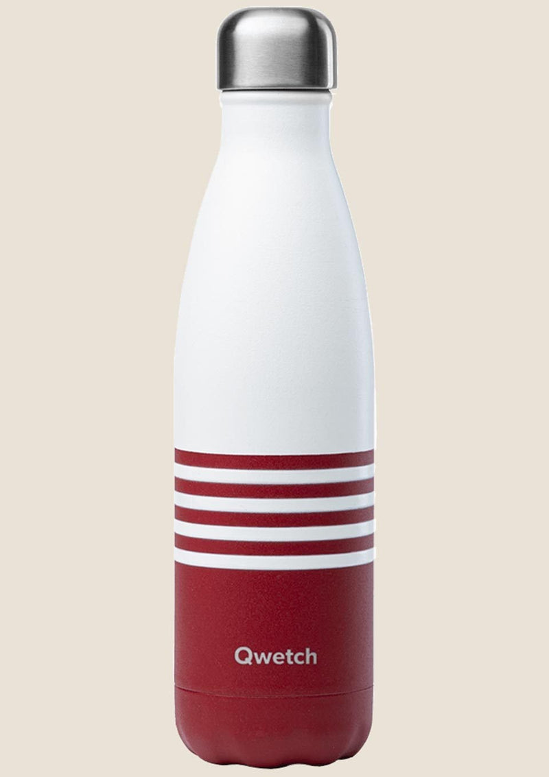 Qwetch Thermosflasche Mariniere Rot 500ml - tiny-boon.com