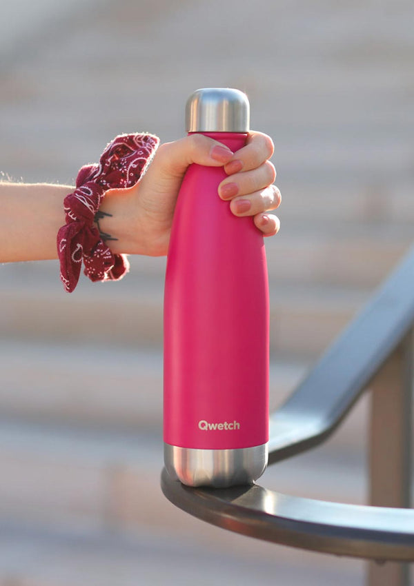 Qwetch Thermosflasche pink 700 ml - tiny-boon.com